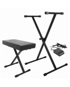 OnStage KPK6520CB Keyboard Stand Pack
