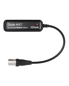 Audinate ADP-DAO-AU-0X1 Dante AVIO Analog Adapter Output 1 Channel