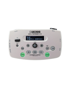 Boss VE-5 Vocal Performer (White)