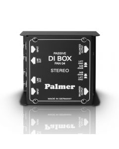 Palmer PAN04 2 Channel Passive DI Box