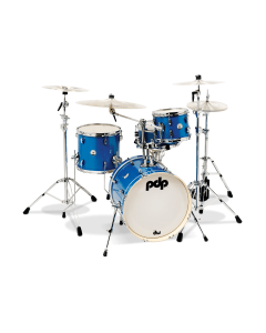 PDP New Yorker 4pc Drum Kit (Sapphire)