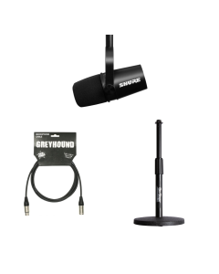 Podcast Bundle P3 - MV7 (Black)